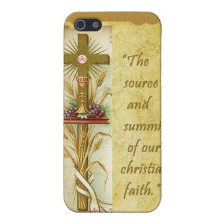 El caso santo del iPhone 4/4S de la eucaristía iPhone 5 Fundas