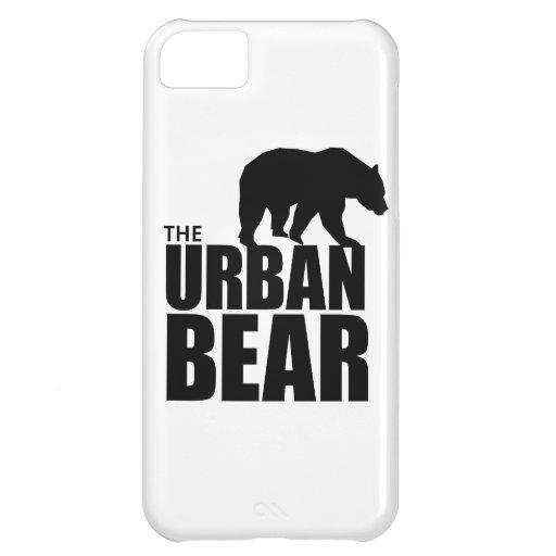 El caso urbano del iPhone del oso Funda Para iPhone 5C