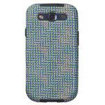 El caso vibrante de Iphone Galaxy SIII Protectores
