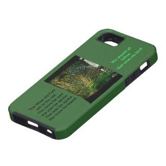 El caso viejo sabio del búho Iphone5 Hardshell iPhone 5 Funda