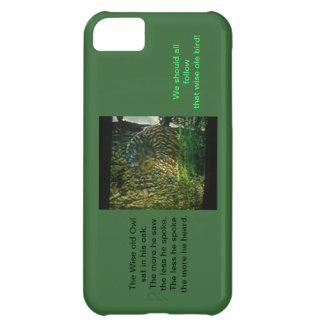 El caso viejo sabio del búho Iphone5 Hardshell