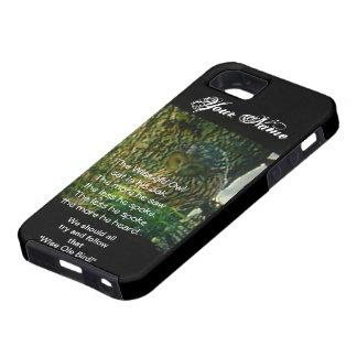 El caso viejo sabio del búho Iphone5 Hardshell iPhone 5 Case-Mate Protector