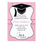 El casquillo 2013 de la graduación invita invitación 12,7 x 17,8 cm