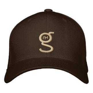 El casquillo apto w de la flexión de color caqui s gorra de béisbol