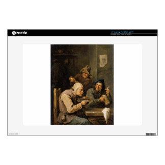 El casquillo de la prisa de David Teniers el más Calcomanía Para 38,1cm Portátil