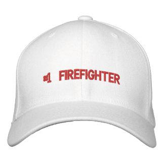 El casquillo del bombero gorras bordadas