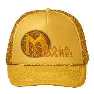 "El casquillo del logotipo del ""Mandala-Mandarín"" Gorras"