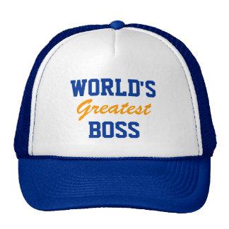 El casquillo más grande del jefe del mundo gorro