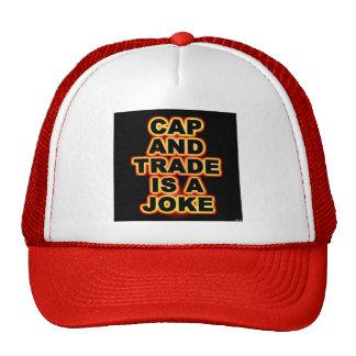 El casquillo y el comercio es un chiste gorras de camionero