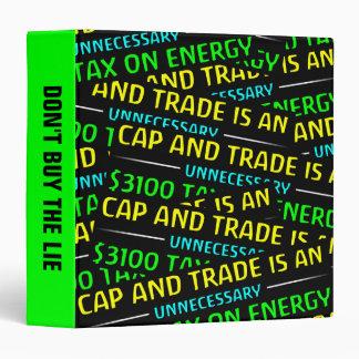 """El casquillo y el comercio es un impuesto carpeta 1 1/2"""""""