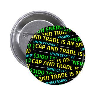 El casquillo y el comercio es un impuesto pin