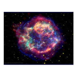 El Cassiopeia una muerte de la supernova… le Postales