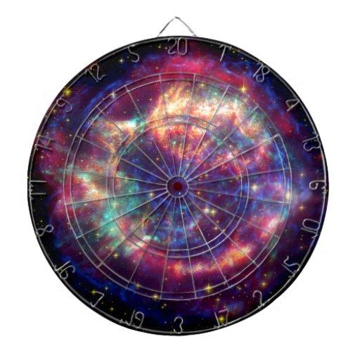 El Cassiopeia una muerte de la supernova… le sient Tablero De Dardos