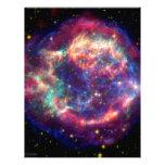 El Cassiopeia una muerte de la supernova… le sient Membrete