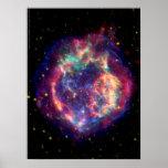 El Cassiopeia una muerte de la supernova… le sient Posters