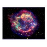 El Cassiopeia una muerte de la supernova… le Postal