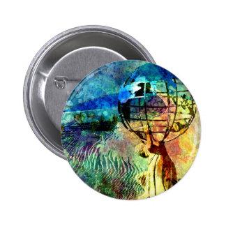 EL CASTIGO de ATLAS.jpg Pin Redondo De 2 Pulgadas