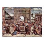El castigo del detalle de Leviter de Botticelli Sa Postales