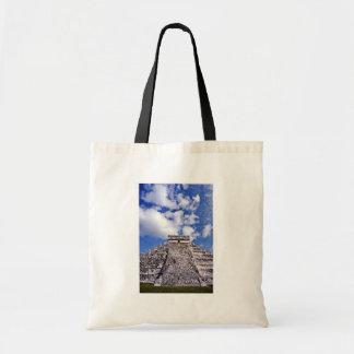 El Castillo-11th Century Mayan/Toltec Ruins Budget Tote Bag