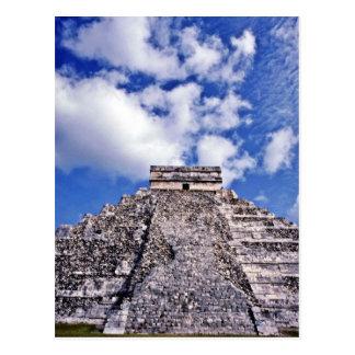 El Castillo-11th Century Mayan/Toltec Ruins Postcard