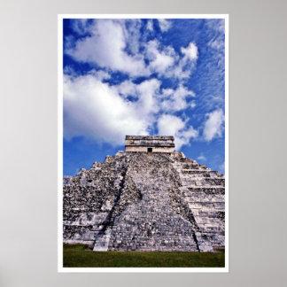 El Castillo-11th Century Mayan Toltec Ruins Posters