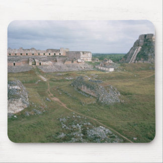 El Castillo and the Nunnery Mouse Pad