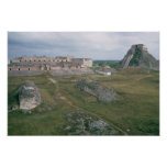 El Castillo and the Nunnery Poster