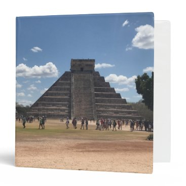 everydaylifesf El Castillo – Chichen Itza, Mexico #2 Binder