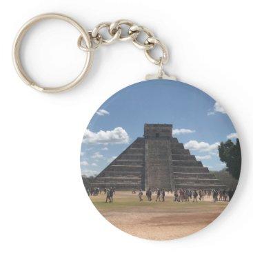 everydaylifesf El Castillo – Chichen Itza, Mexico #2 Keychain