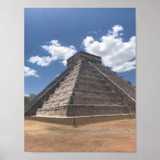 El Castillo – Chichen Itza, Mexico #3 Poster