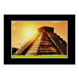 El Castillo - Chichen Itza Poster
