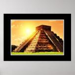 EL Castillo - Chichen Itza Posters
