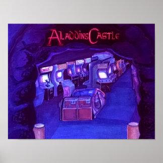 El castillo de Aladdin (active del blacklite) Póster