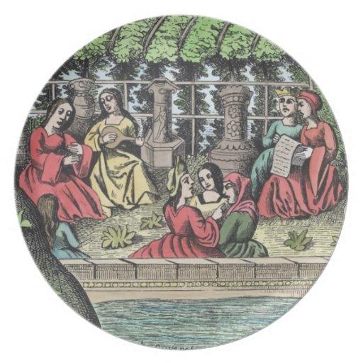 El castillo de Alamond y de sus encantamientos, de Platos