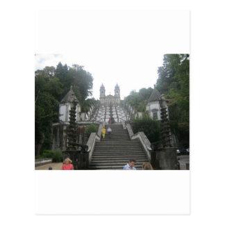 El castillo de Braga Postal
