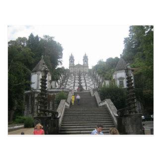 El castillo de Braga Postales