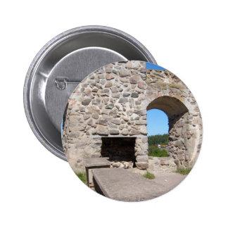 El castillo de Brahehus arruina Suecia Pins