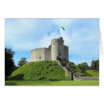 El castillo de Cardiff guarda Felicitaciones