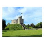 El castillo de Cardiff guarda II Postal