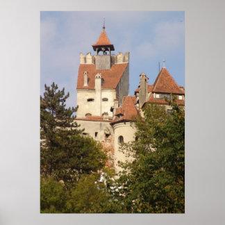 El castillo de Drácula de debajo Póster