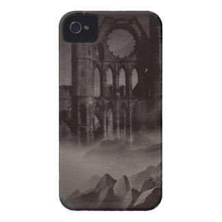 El castillo de Drácula iPhone 4 Case-Mate Protectores