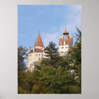 El castillo de Drácula, hogar a rey Vlad Póster