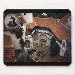 El castillo de Drácula interior Alfombrillas De Raton