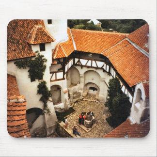 El castillo de Drácula interior, Transilvania Mousepad