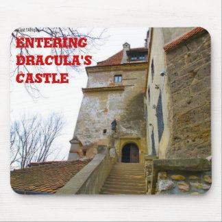 El castillo de Drácula que entra Alfombrillas De Ratón