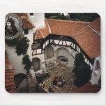 El castillo de Drácula, salvado, Transylvannia, en Tapete De Ratón
