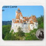 El castillo de Drácula, salvado, Transylvannia, en Tapetes De Ratón