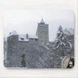 El castillo de Drácula, salvado, Transylvannia, en Alfombrilla De Ratones