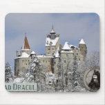 El castillo de Drácula, salvado, Transylvannia Alfombrillas De Raton