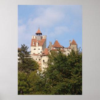 El castillo de Drácula, Transilvania que controla Póster